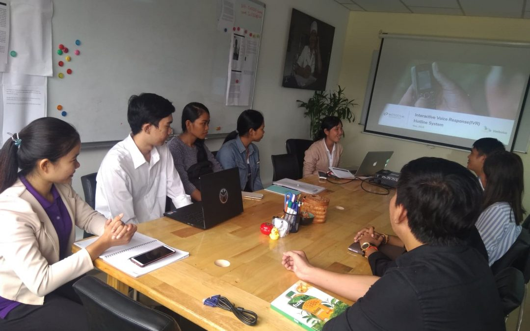 Technology meeting for a social grassroots organization on How to Apply Verboice into Development Program