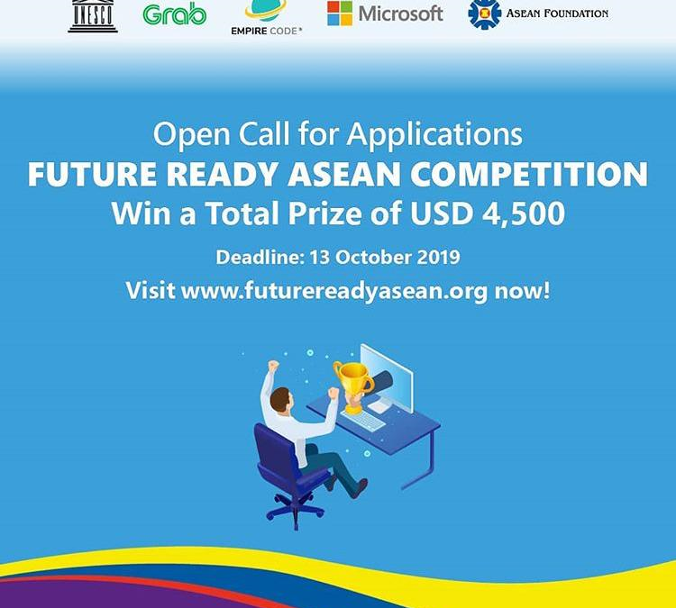 Open Call for Applications: Future Ready ASEAN Competition 2019